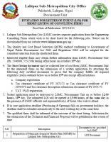 LSMC MTMP LOI Notice